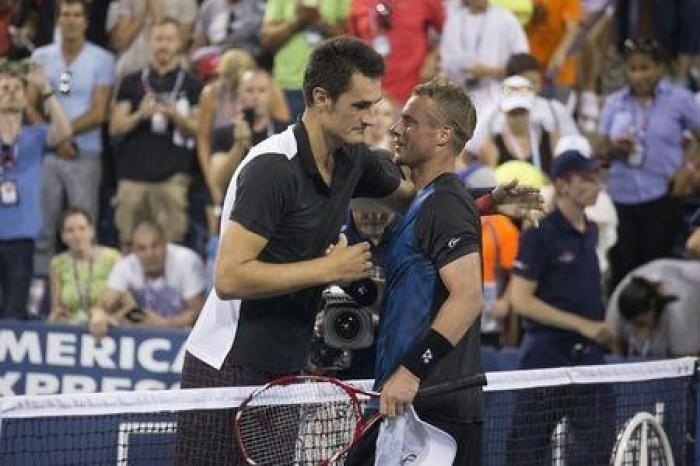 LIVE CALL: Tomic ends Hewitt´s US Open career (AUDIO)