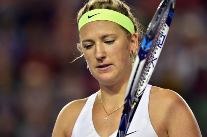 Victoria Azarenka is a two-former Major champion