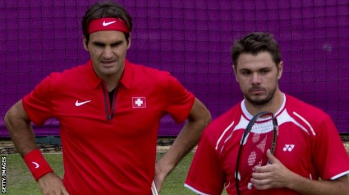 Federer and Wawrinka