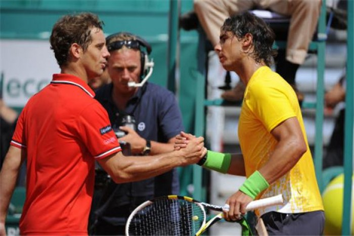 Richard Gasquet and Rafael Nadal