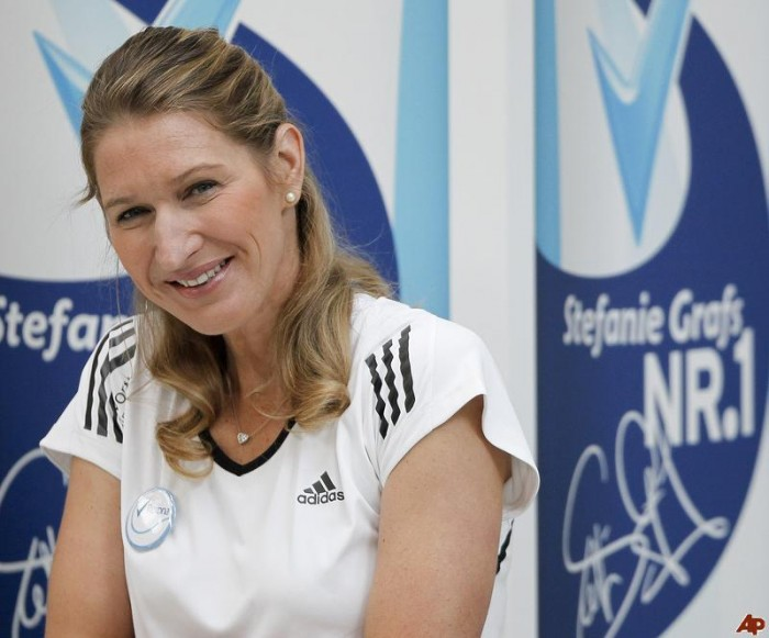 Former world no. 1 Steffi Graf has been spending some good time on the ...