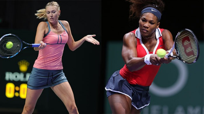Serena Williams vs Maria Sharapova