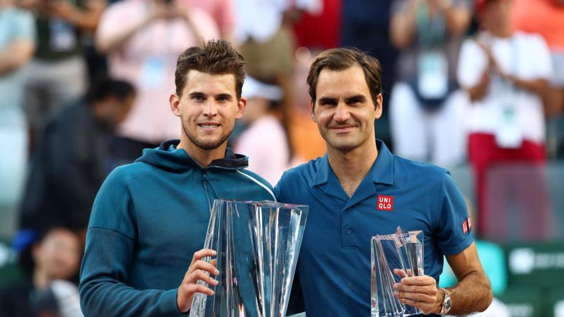 Coach reveals what makes Dominic Thiem and Roger Federer similar