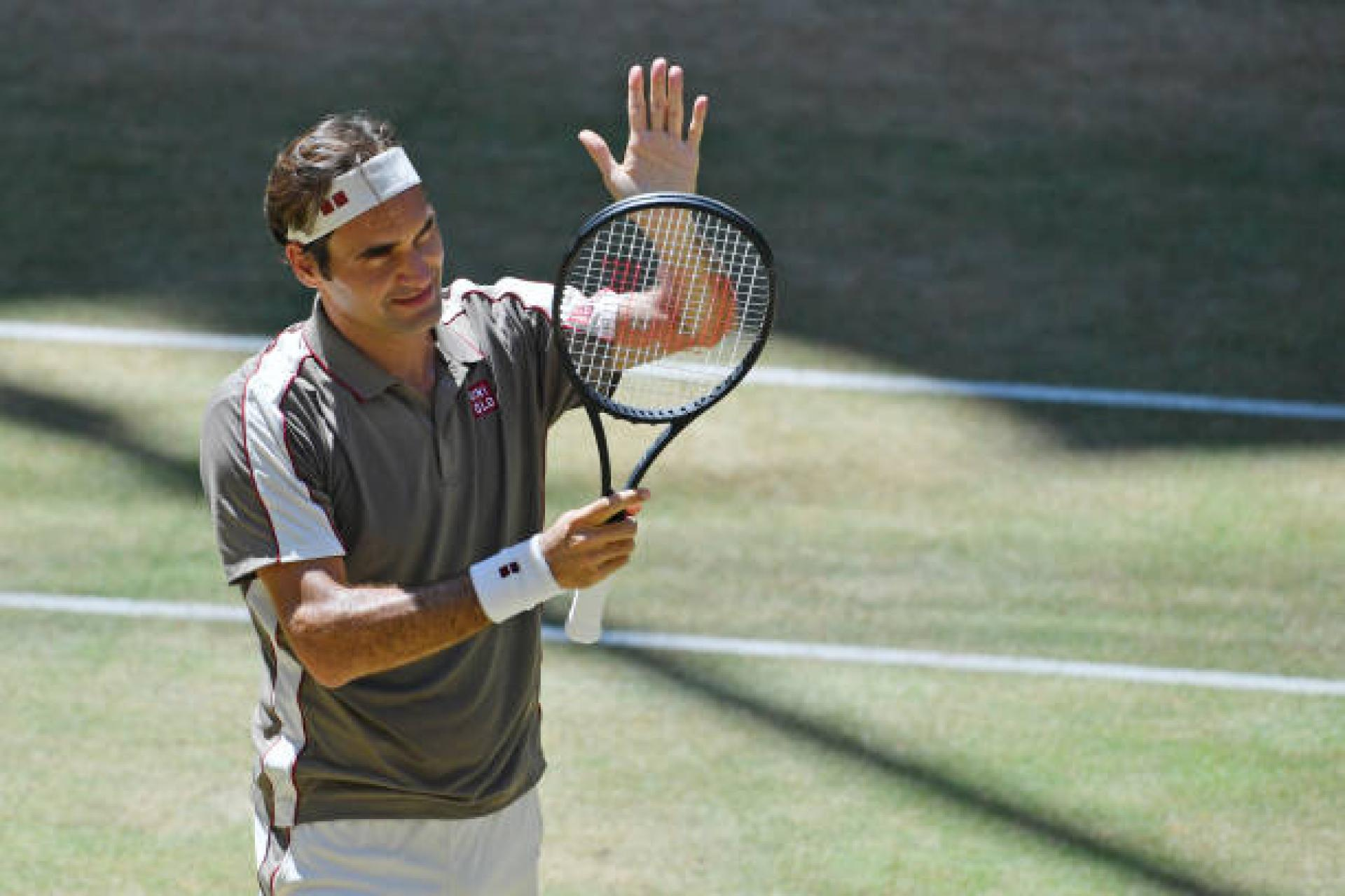 Roger Federer: I didn't think I was gonna win the Halle title