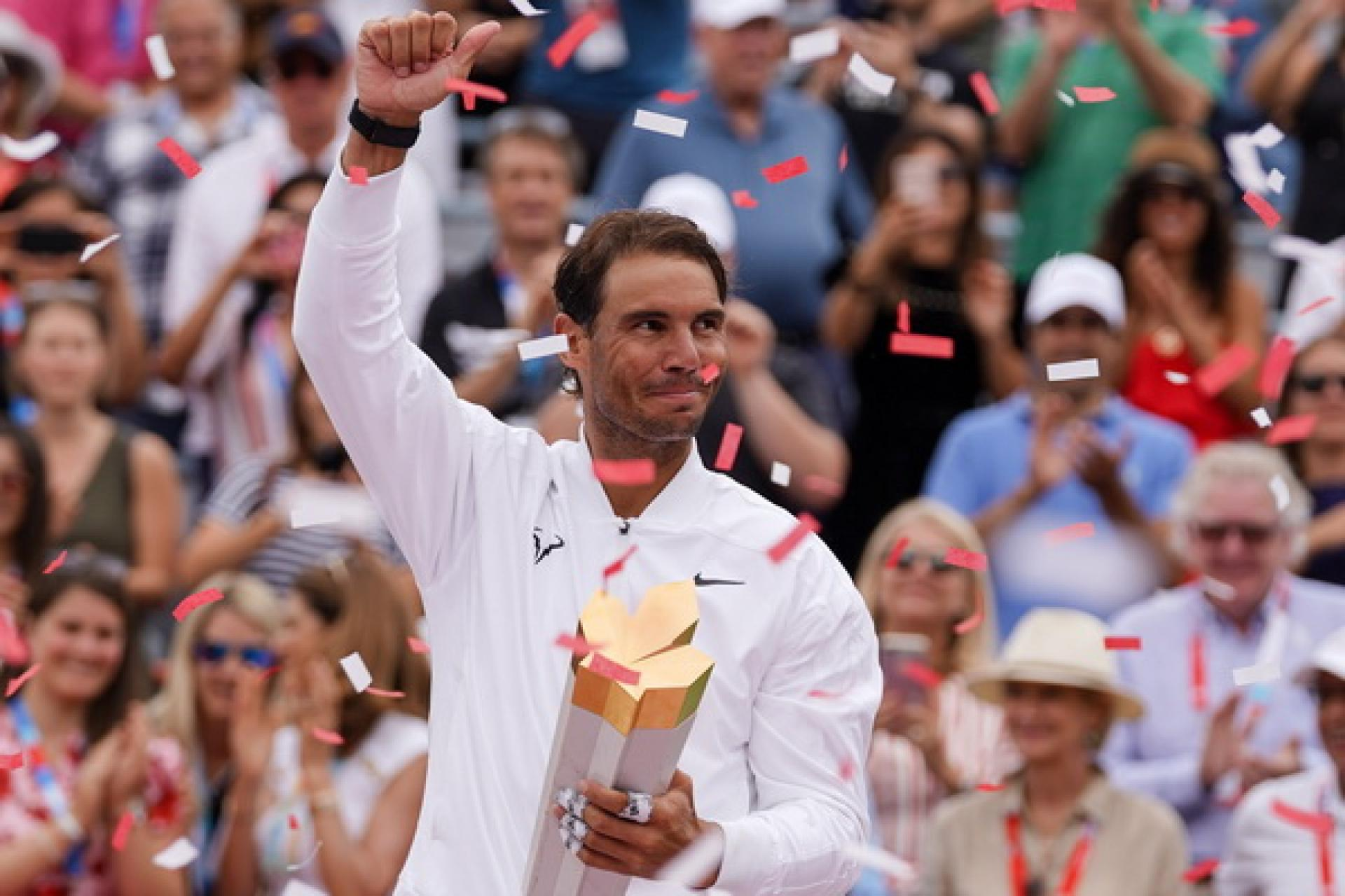 Rafael Nadal moves ahead of Andre Agassi on exclusive ranking list