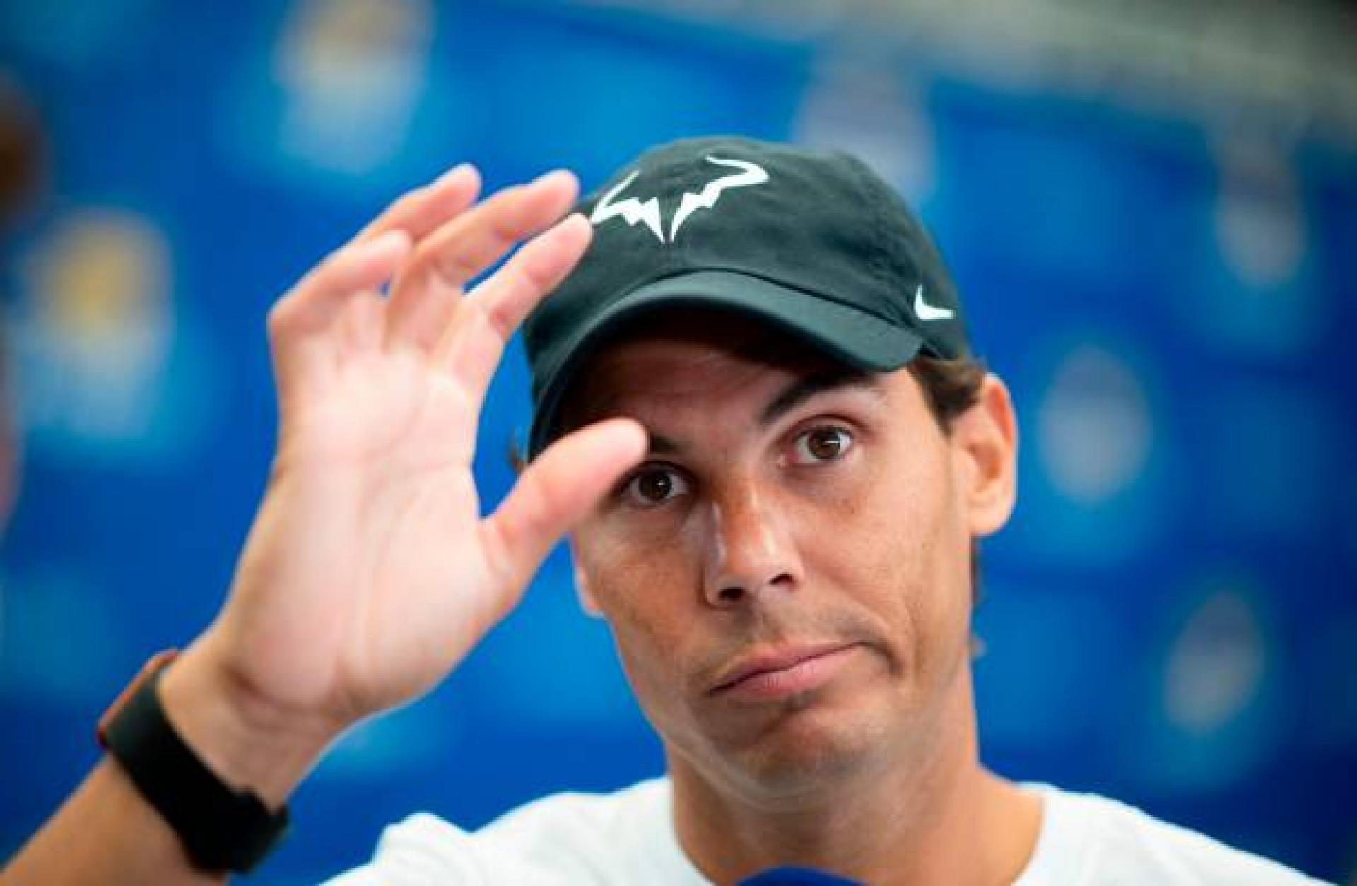 Rafael Nadal: 'I have not been very focused on diet my whole life'