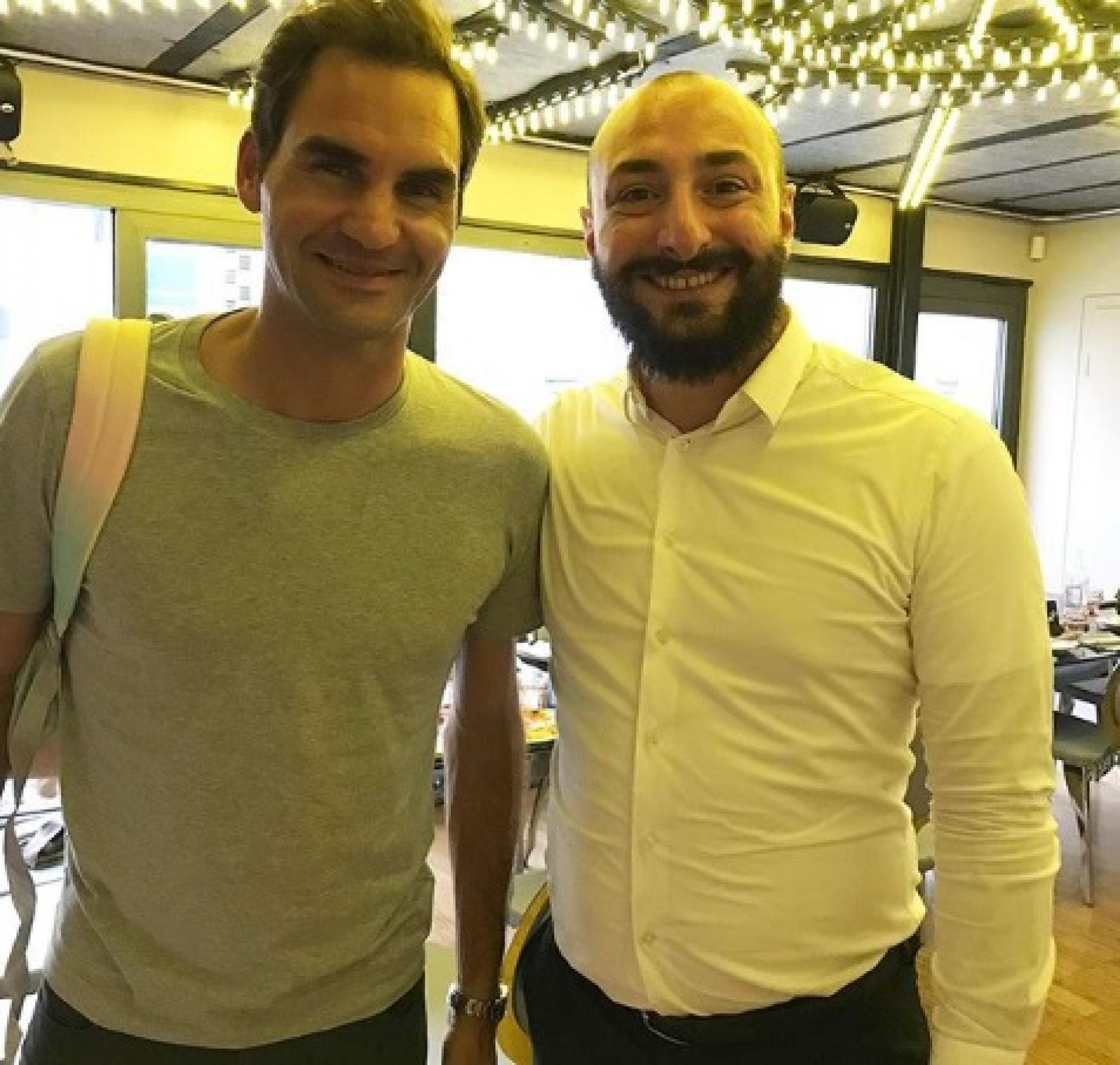 Roger Federer shocks Italian restaurant owner in Geneva