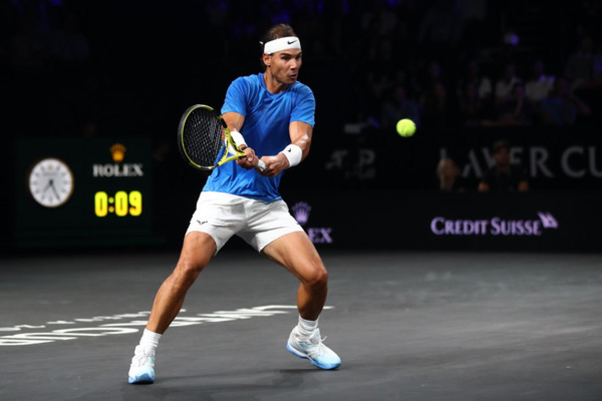 Laver Cup: Rafael Nadal tops Milos Raonic to extend Team Europe advantage