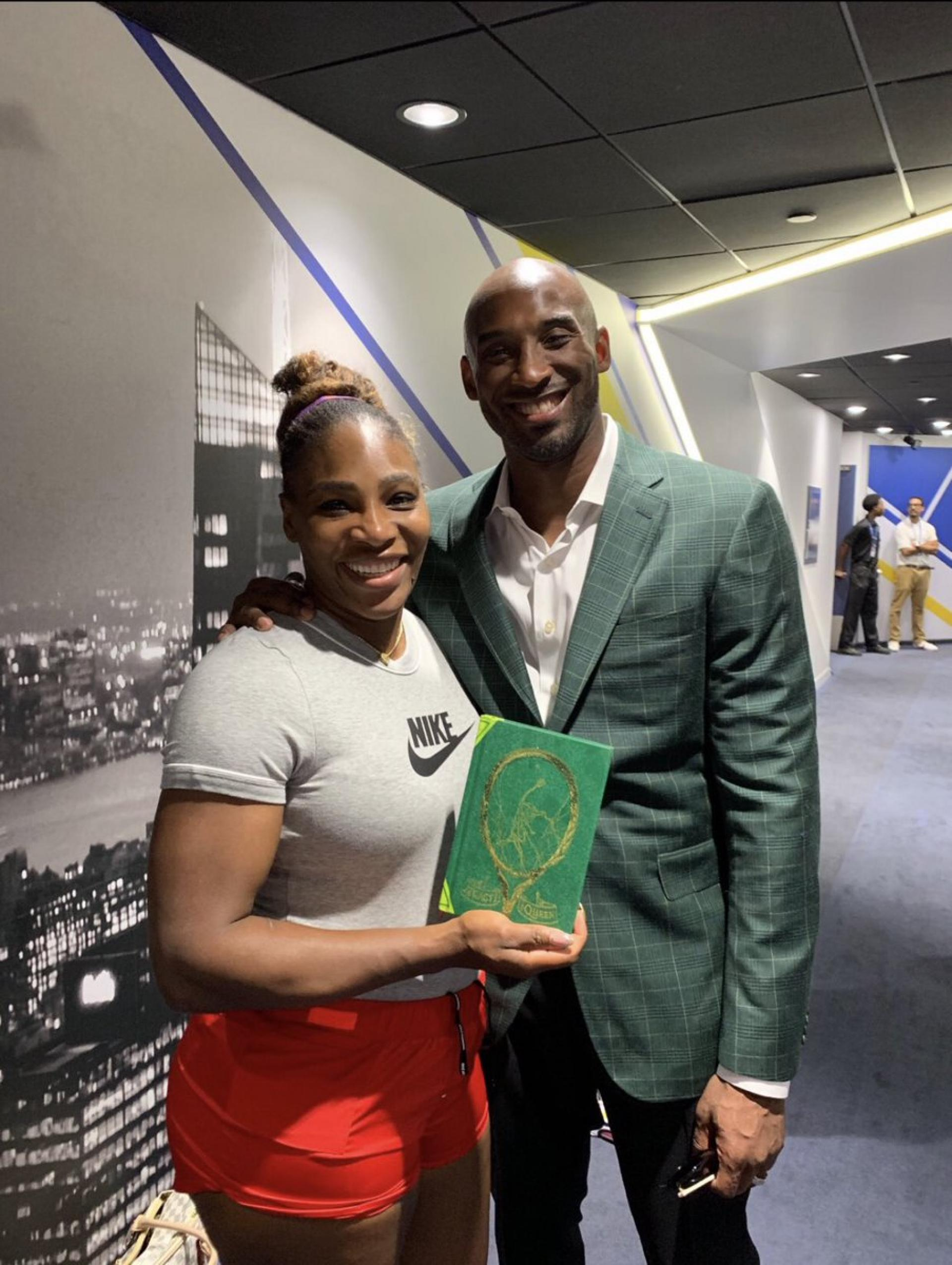 Kobe Bryant Says He Took Help from Serena Williams for His Childrens Book