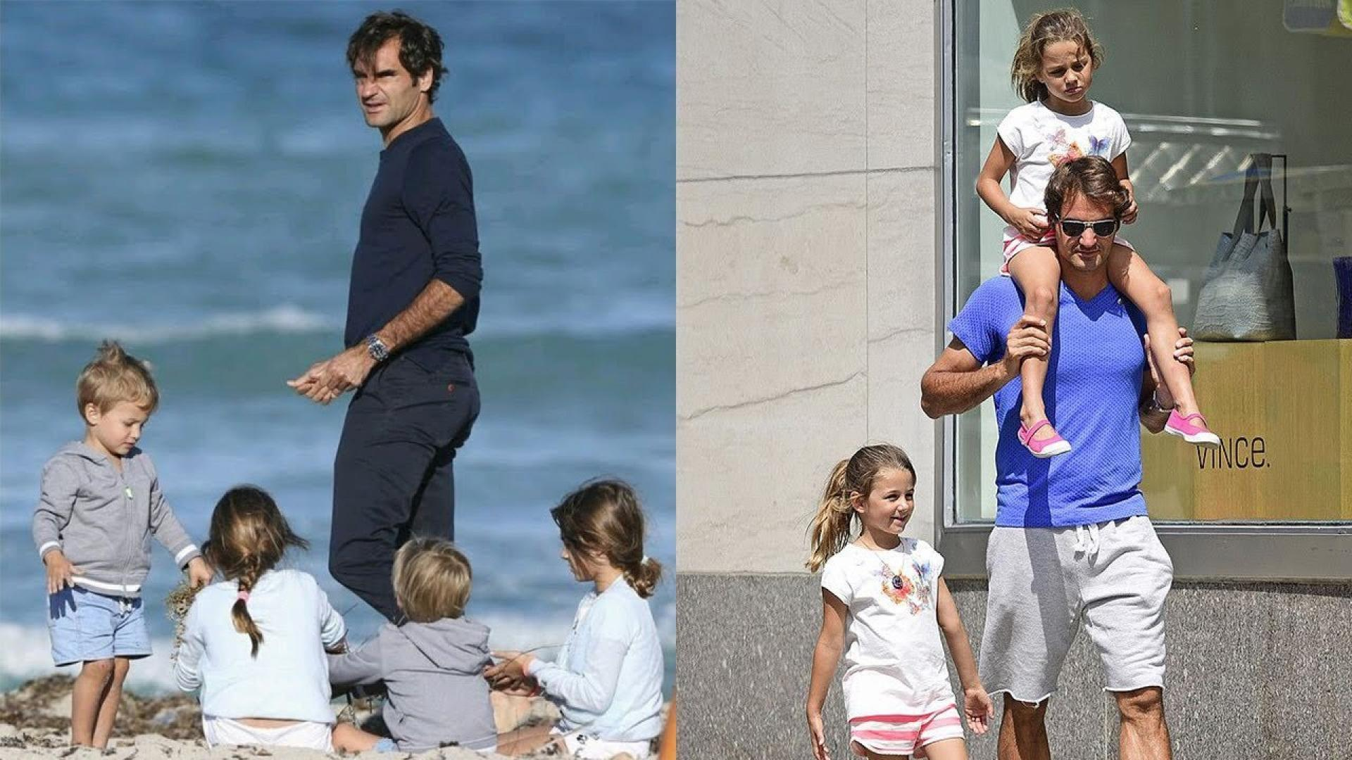 Roger Federer could not sleep because of his children, was still happy - Czech player