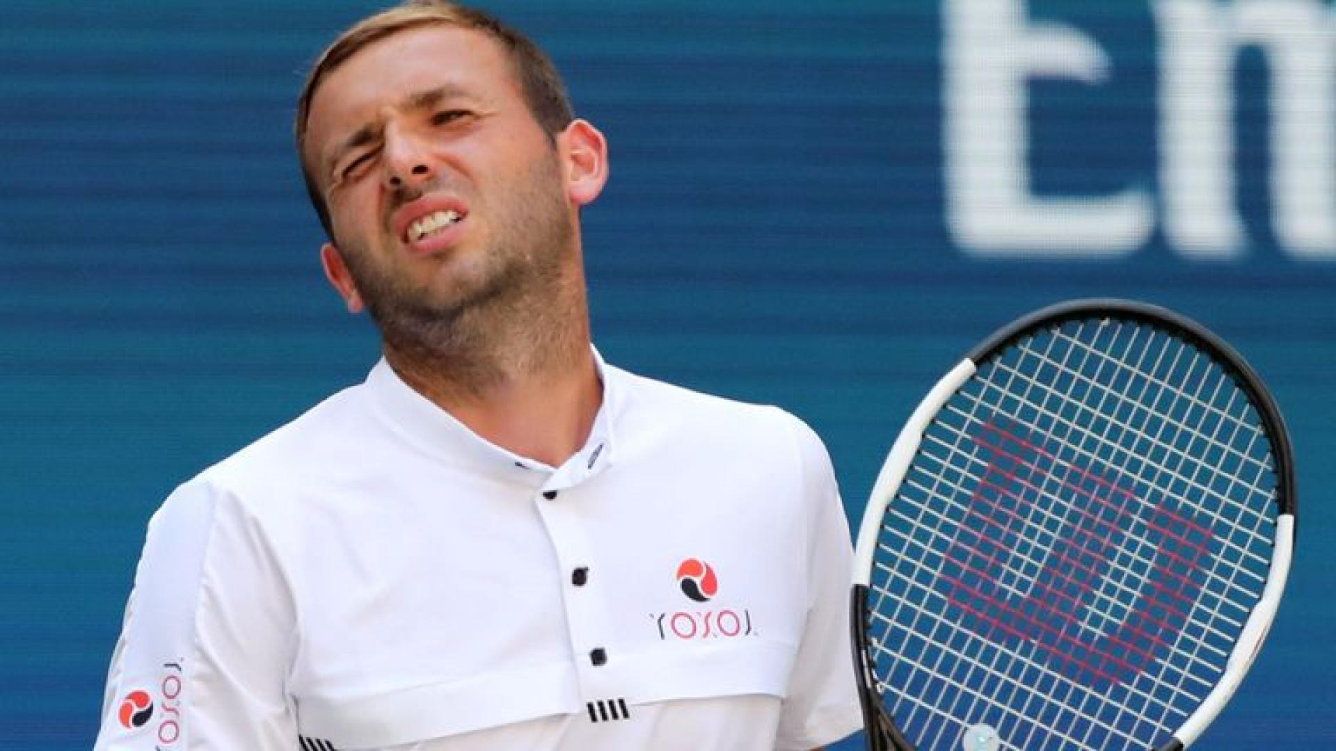 Dan Evans: 'I Know I Don't Have a Six Pack. I Know That'
