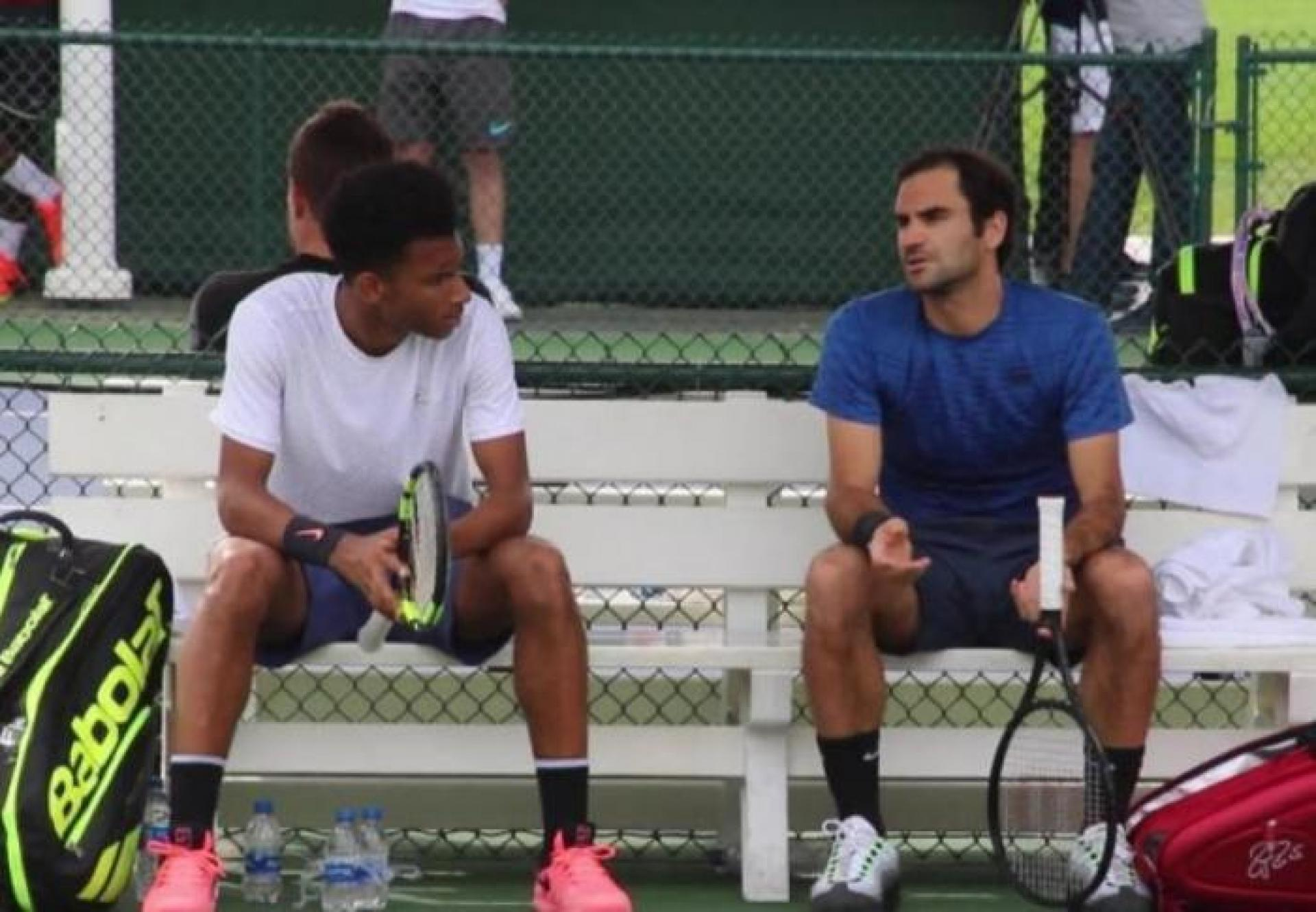 Auger-Aliassime:My next challenge is to beat Roger Federer, Rafael Nadal and Djokovic