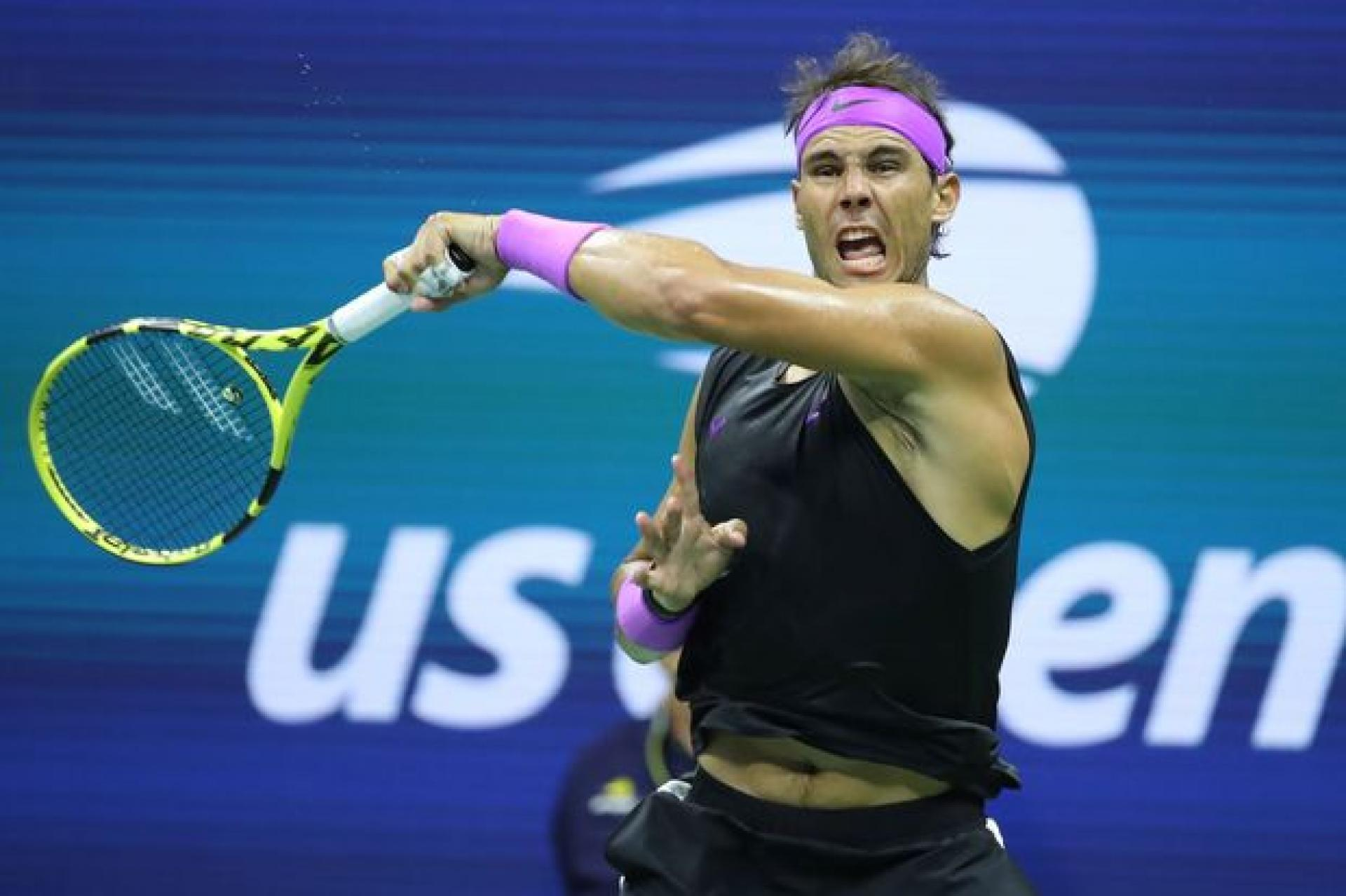 Rafael Nadal Leads ATP Players When Breaking Serve from Deuce