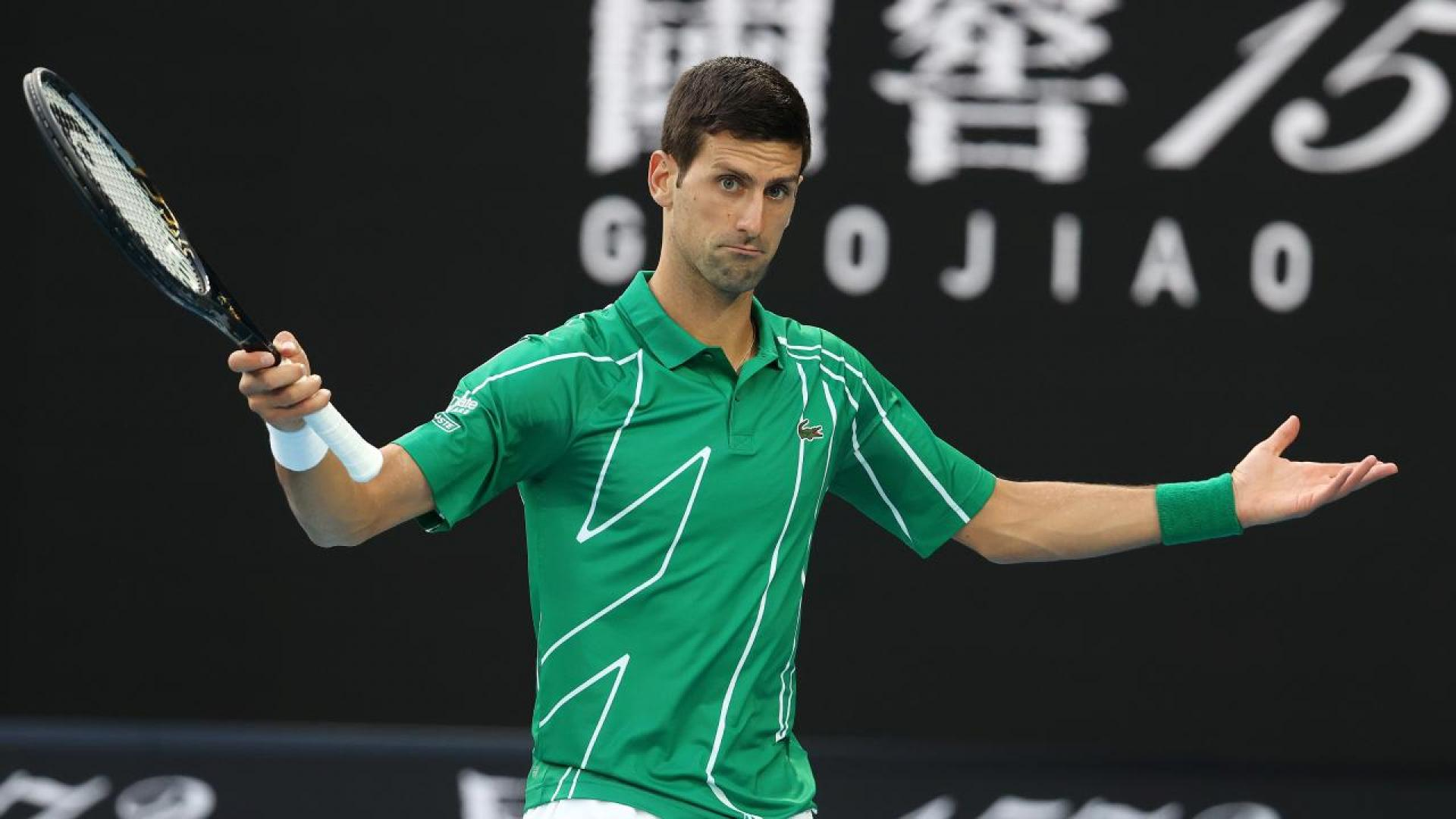 Novak Djokovic describes criticism after Adria Tour as witch-hunt