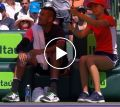 Nick Kyrgios asks ball girl to sit next to him - 2018 Miami
