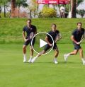How to hit a backhand by Roger Federer - Five steps