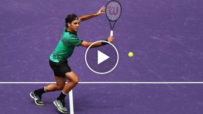 Roger Federer's come back: THE AMAZING SKILLS OF THE SWISS