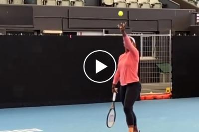 """Mouratoglou reveals slow-mo video of Serena Williams' """"greatest serve of all time"""""""