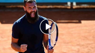 ATP Madrid 2021: Paire wins and celebrates with the crowd!