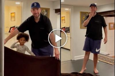 Serena Williams' daughter disappears after magic trick by Alexis Ohanian
