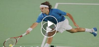 AO 2005: Roger Federer makes the impossible against Takao Suzuki