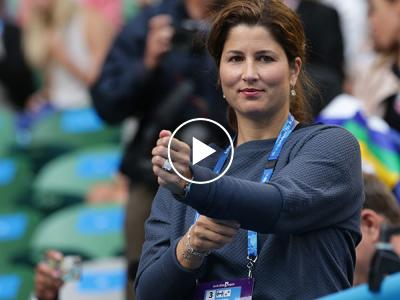 Roger Federer's wife Mirka BOOS Nick Kyrgios during match! (PIC AND VIDEO INSIDE)