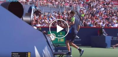 Roger Federer vs Robin Haase - MONTREAL 2017 SF Highlights