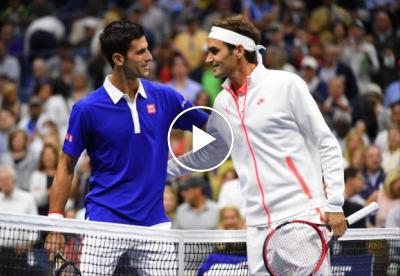A real treat: a Roger Federer-Novak Djokovic doubles match at Laver Cup