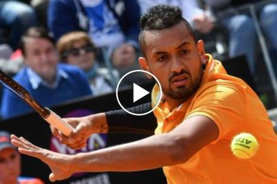 The best (worst?) parts of Nick Kyrgios' match against Daniil Medvedev