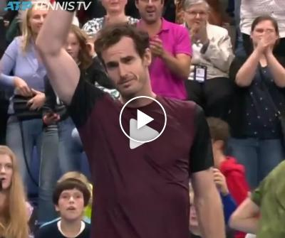 Andy Murray defeated Stan Wawrinka - Match Point