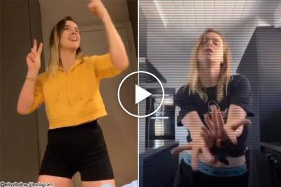 Elina Svitolina shows off dancing moves that would make even Gael Monfils jealous