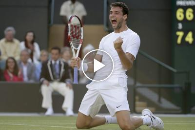 Grigor Dimitrov Gets Creative While Working Out at Home
