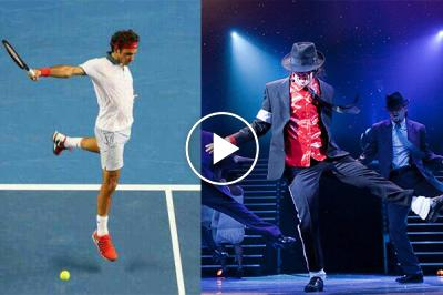 Roger Federer has Michael Jackson in his blood: 'My footwork, I owe it to M.J.'