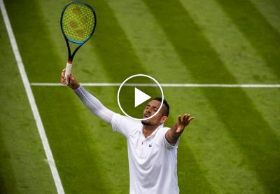 The best of Nick Kyrgios on grass-courts