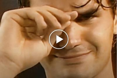 4 times when Roger Federer cried with tears of joy