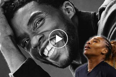 """Serena Williams reacts to 'Black Panther' Boseman's death: """"Chadwick forever"""""""